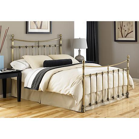 Leighton Antique Brass Beds