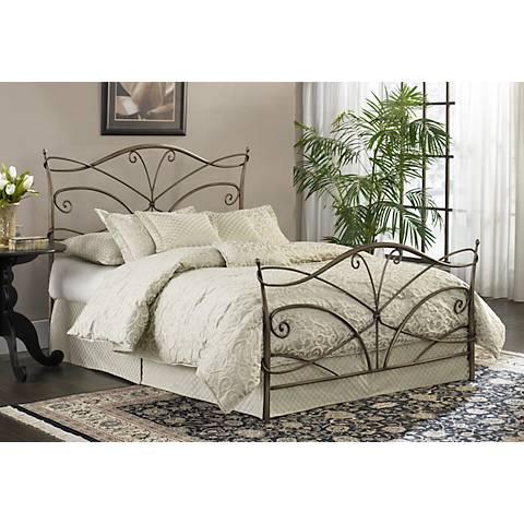 Papillon Brushed Bronze Beds