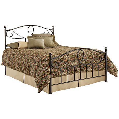 Sylvania French Roast Metal Beds