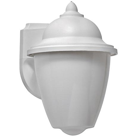 Park Point LED White Outdoor Wall Lantern