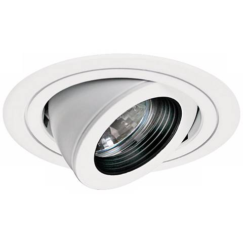 "Intense 3"" White with Black Baffle Recessed Lighting Trim"