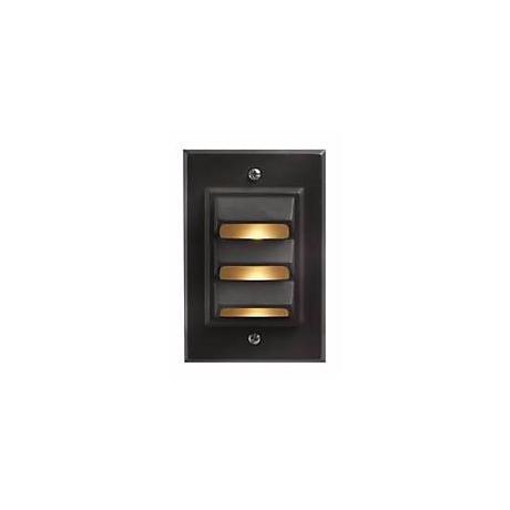 Hinkley Bronze Vertical 12 Volt LED Deck Light