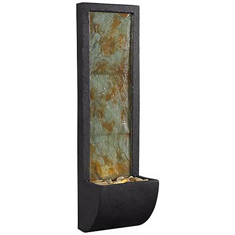 Walla Decorative Indoor Wall Fountain with LED Light