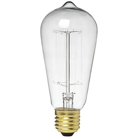 60 Watt Edison Style Light Bulb