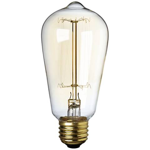 Nostalgic 40 Watt Medium Base Edison Style Light Bulb