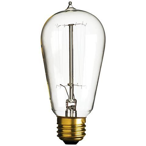 40 Watt Edison Style Medium Base Light Bulb