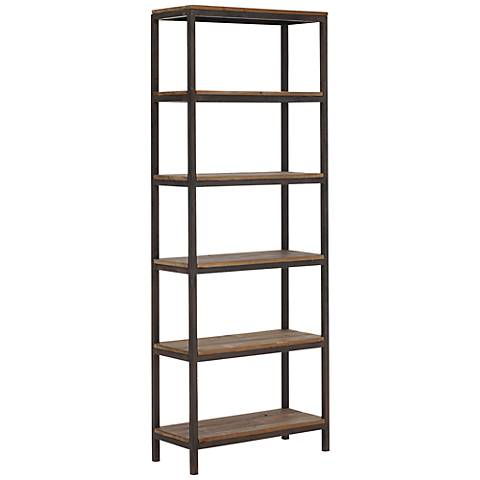 Zuo Mission Bay 6-Level Distressed Natural Shelf