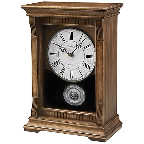 Bulova Warrick III Chiming Mantel Clock
