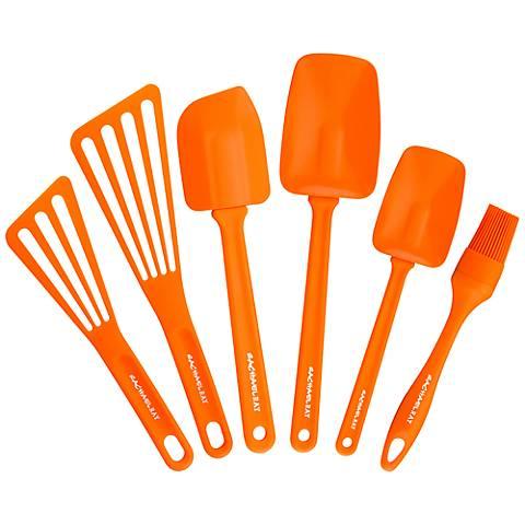 Rachael Ray Tools 6-Piece Orange Kitchen Set