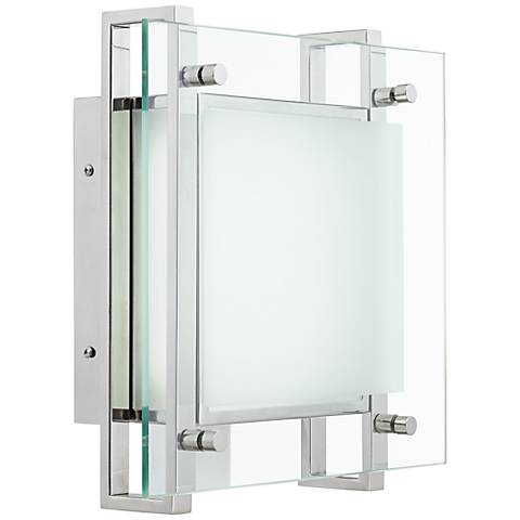 """Possini Euro Design Levonia 13"""" High LED Outdoor Wall Light"""