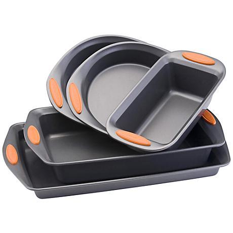 Rachael Ray Bakeware Oven Lovin' 5-Piece Bakeware Set