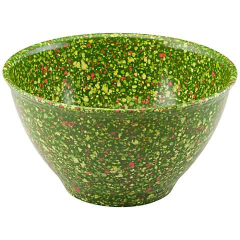 Rachael Ray Garbage Bowls 4-Quart Green Garbage Bowl