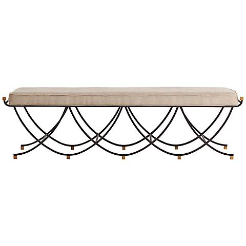 Arteriors Home Felice Large Bench