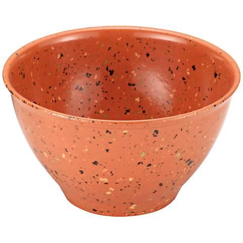 Rachael Ray 4-Quart Orange Garbage Bowl