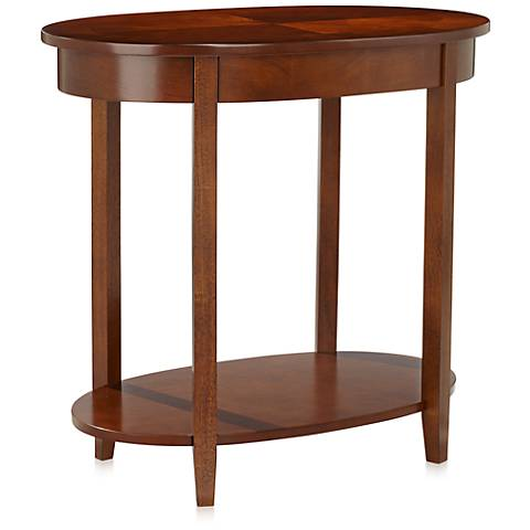 Delaney Wood Accent Table