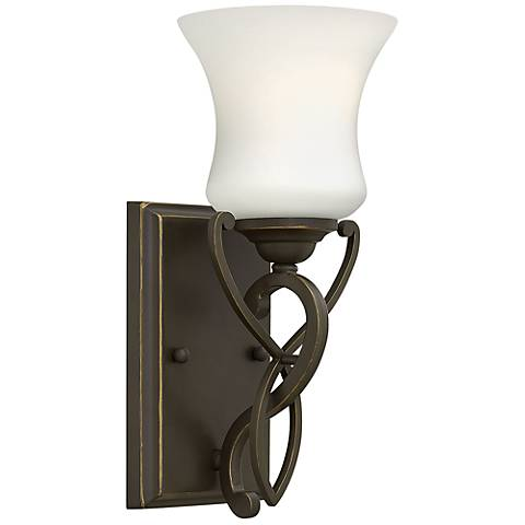 "Hinkley Brooke 11 1/2"" High Olde Bronze Wall Sconce"