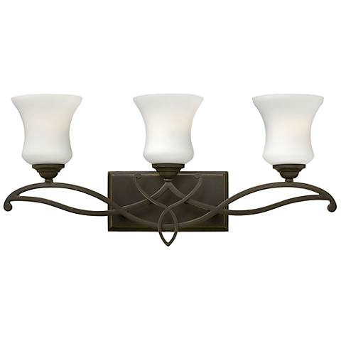 "Hinkley Brooke 24"" Wide Olde Bronze Bathroom Light"