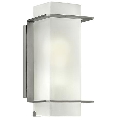 """Hinkley Union 12"""" High Brushed Nickel Wall Sconce"""