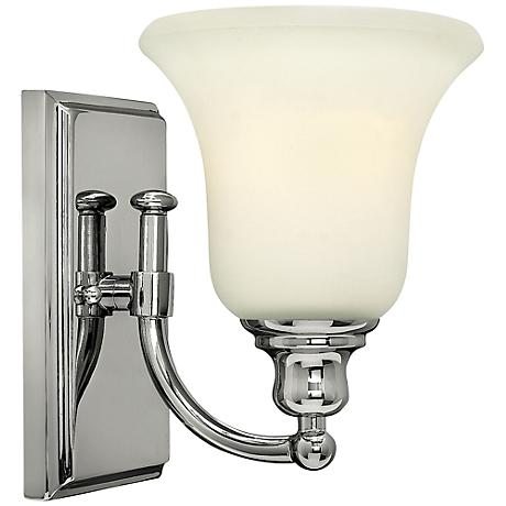 """Hinkley Colette 8 1/4"""" High Chrome Wall Sconce"""