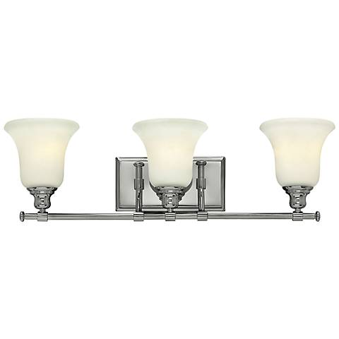 "Hinkley Colette 26 1/4"" Wide Chrome Bathroom Light"
