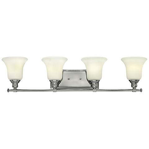 "Hinkley Colette 33 1/4"" Wide Chrome Bathroom Light"