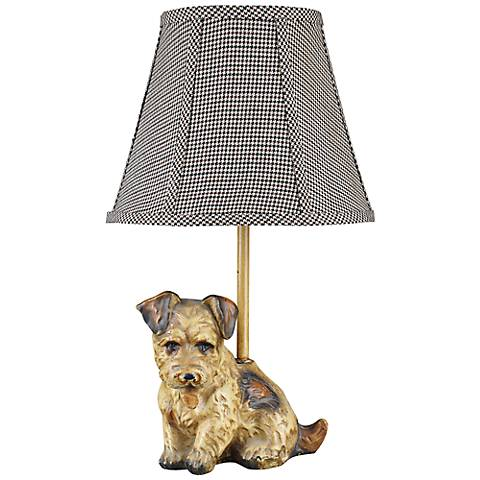 Buddy Miniature Terrier Table Lamp