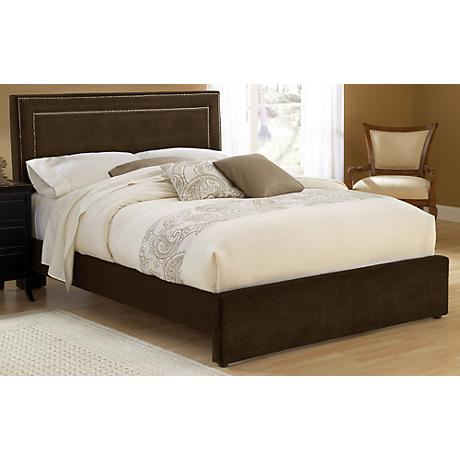 Hillsdale Amber Chocolate Cal King Bed
