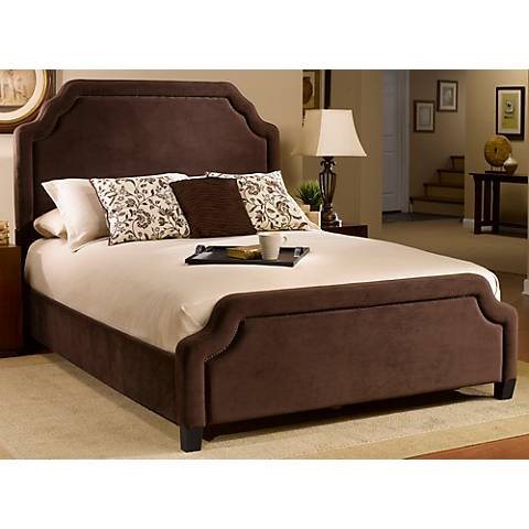 Hillsdale Carlyle Chocolate Cal King Bed