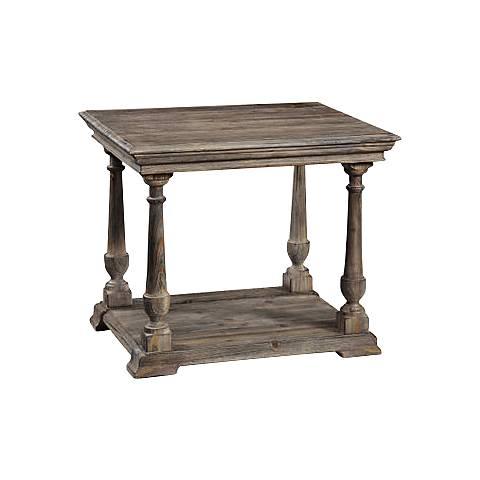 Barnside Rectangle End Table