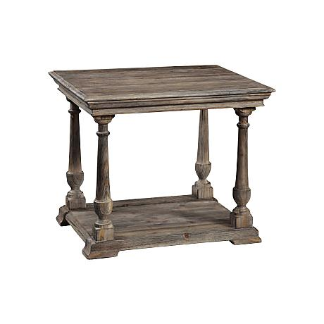 Barnside Rectangle End Table
