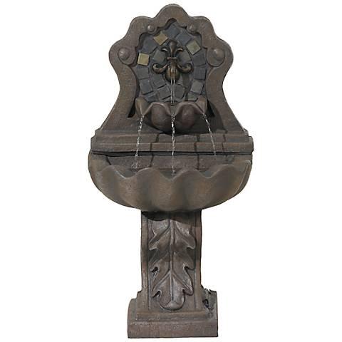 """Felicia Fleur-De-Lis 36"""" High Fountain"""
