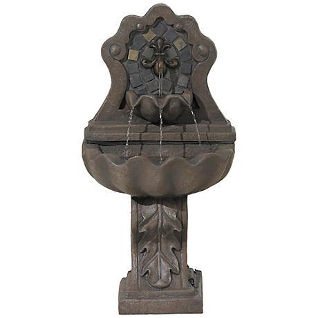 Felicia Fleur-De-Lis Fountain
