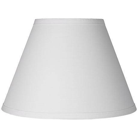 white table lamp clip shade 6x12x8 5 clip on 3k805 lamps plus. Black Bedroom Furniture Sets. Home Design Ideas