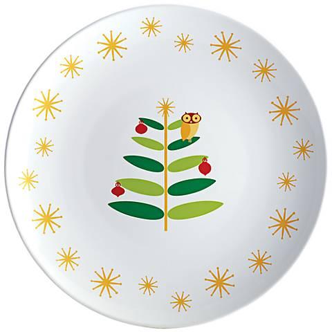 "Rachael Ray Holiday Hoot 14"" Round Platter"