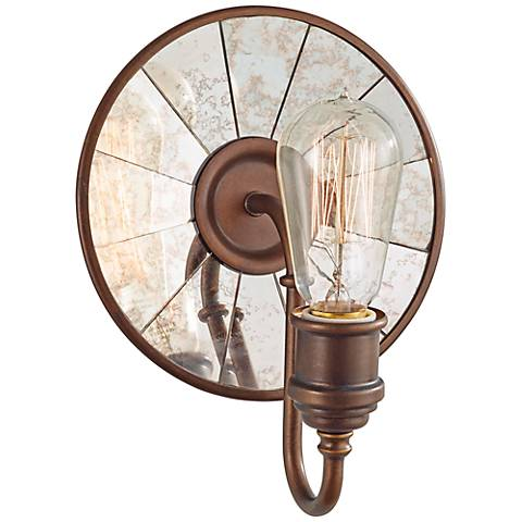 "Feiss Urban Renewal 9 3/4"" High Astral Bronze Wall Sconce"
