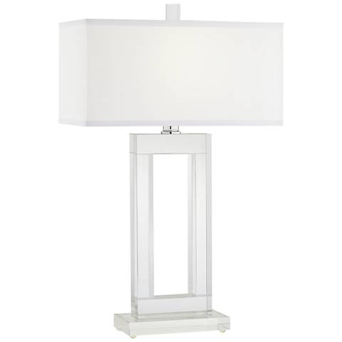 Vienna Full Spectrum Window Modern Crystal Table Lamp