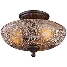 Bathroom Lights Norwich traditional semi-flushmount ceiling lights | lamps plus