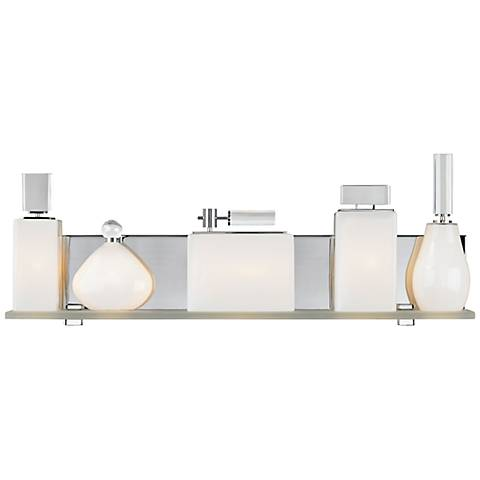 "LBL Lola 24"" Wide Opal Bathroom Light"