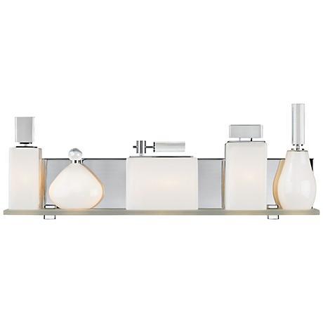 "LBL Lola 24"" Wide Opal Bathroom Light"