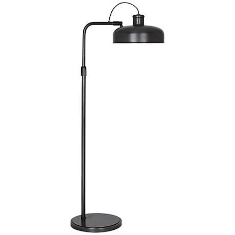 Robert Abbey Albert Patina Bronze Task Floor Lamp
