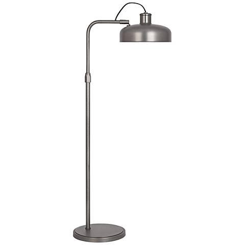 Robert Abbey Albert Patina Nickel Task Floor Lamp