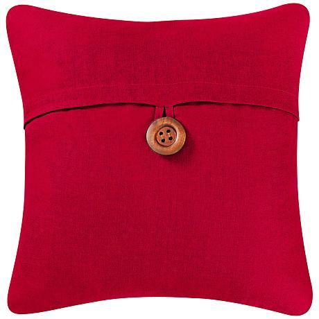 Throw Pillows Emoji : Red 18