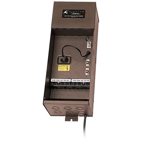 Kichler Plus Series 600-Watt Bronze Transformer