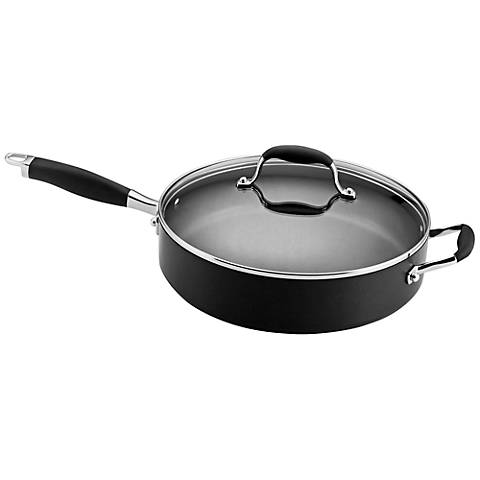 Anolon Advanced 5-Quart Covered Saute with Helper Handle