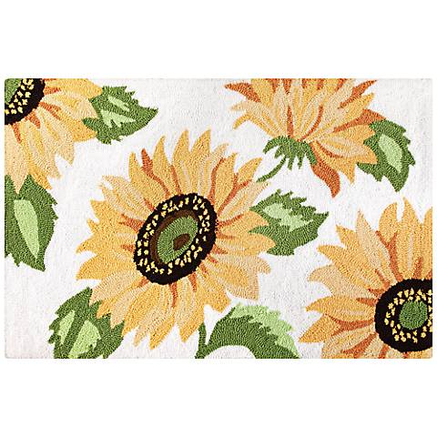 Sunflower 2'x3' Acrylic Doormat