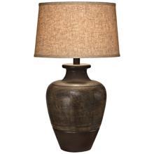 Dark Beige Sable Southwest Table Lamp