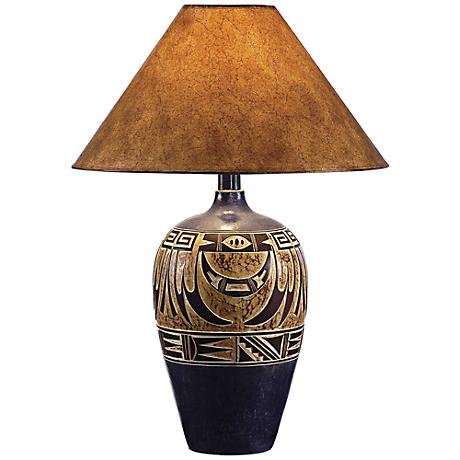 Indian Navy Handcrafted Southwest Table Lamp