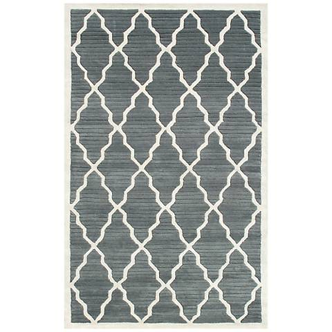 Maison Pemberly Gray 40334 Wool Area Rug