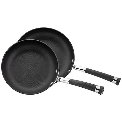 Circulon Contempo Black 2-Piece French Skillet Set