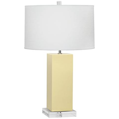 Robert Abbey Harvey Butter Glazed Ceramic Table Lamp